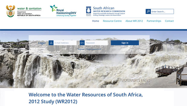 Water Resources of South Africa, 2012 Study